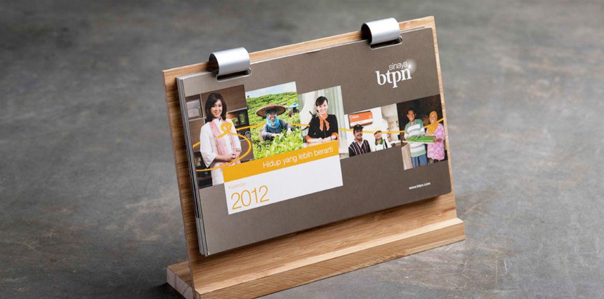 BTPN Calendar 2012