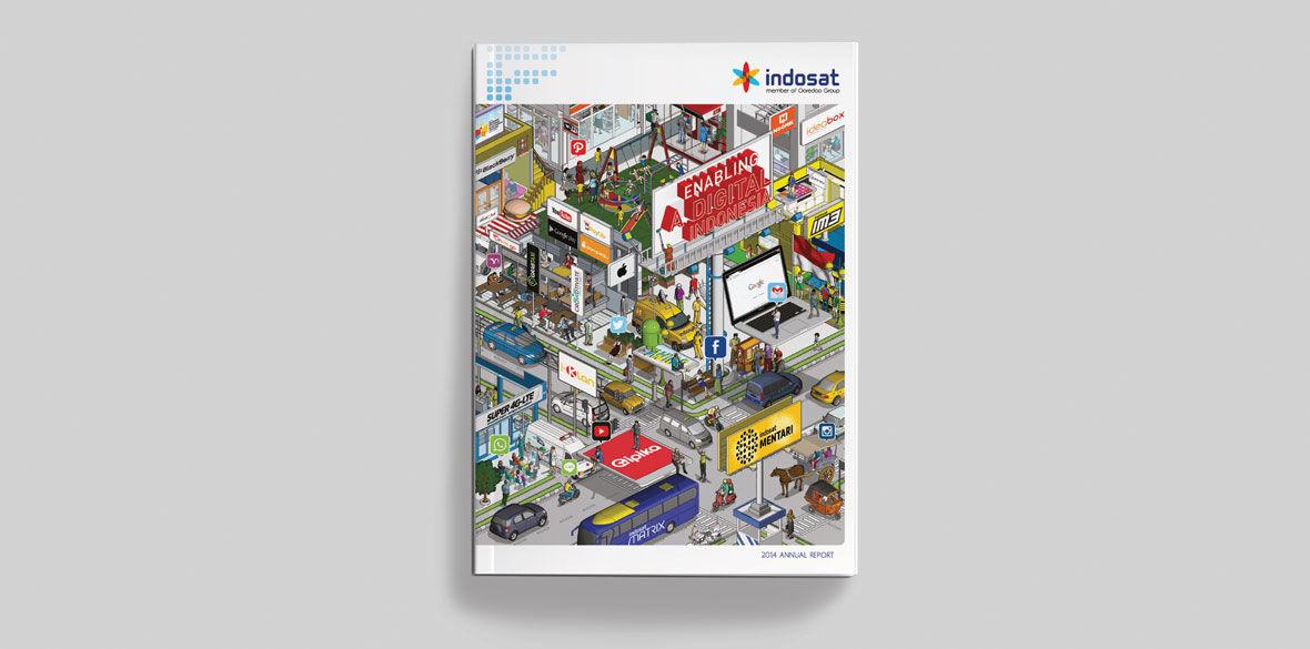 Indosat Annual Report 2014